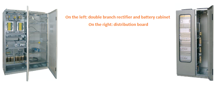 Double branch rectifiers and distribution