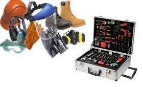 PPE and maintenance tools