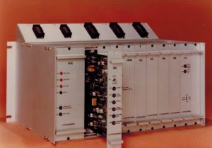 Elettro - SCR UPS, old electronic card rack
